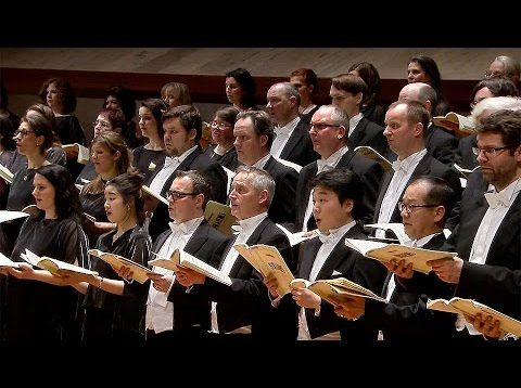 Ein Deutsches Requiem (Brahms) Berlin 2015 Gerhaher Stagg Thielemann