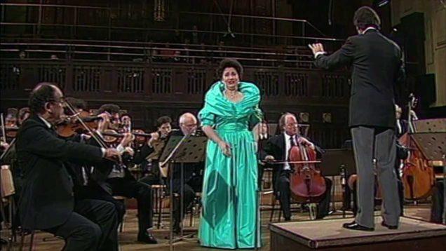 Europakonzert Prague 1991 Cheryl Studer Claudio Abbado