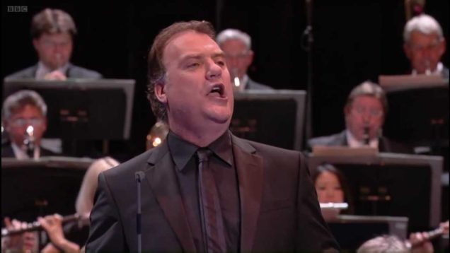 First Night of the Proms London 2012 Bryn Terfel sings Delius Sea Drift