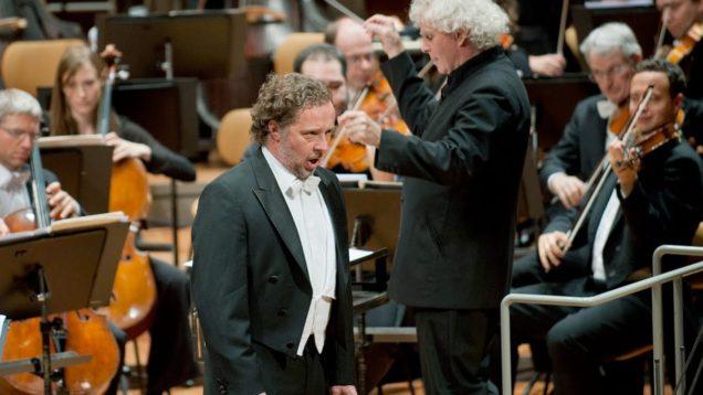 Lieder eines fahrenden Gesellen (Mahler) Berlin Chrsitiian Gerhaher Rattle