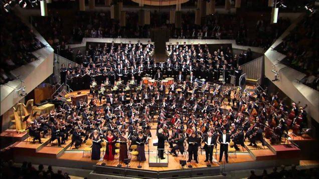 Symphony No. 8 (Mahler) Berlin 2011 Rattle