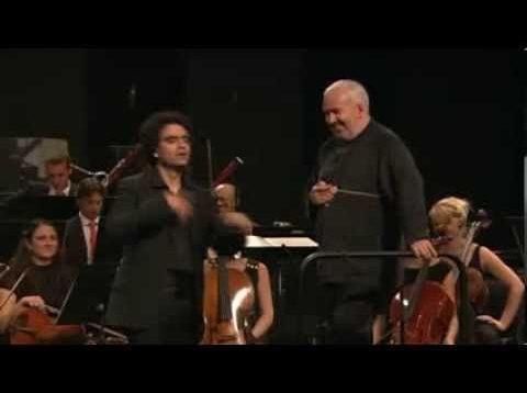 Villazon sings Mozart Arias Verbier 2012 Minkowski