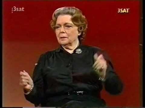 <span>FULL </span>Da Capo – Martha Mödl – Interview with August Everding 1986