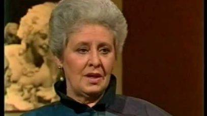 <span>FULL </span>Da Capo – Sena Jurinac – Interview with August Everding 1988