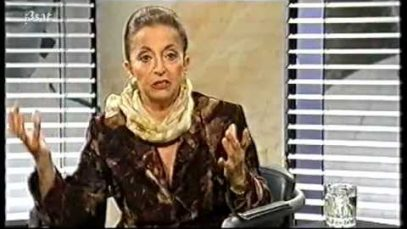 <span>FULL </span>Da Capo – Teresa Berganza – Interview with August Everding 1998