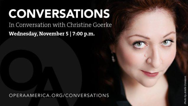 <span>FULL </span>In Conversation with Christine Goerke New York 2014