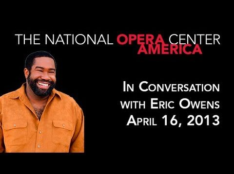 <span>FULL </span>In Conversation with Eric Owens New York 2013