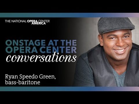 <span>FULL </span>In Conversation with Ryan Speedo Green New York 2018