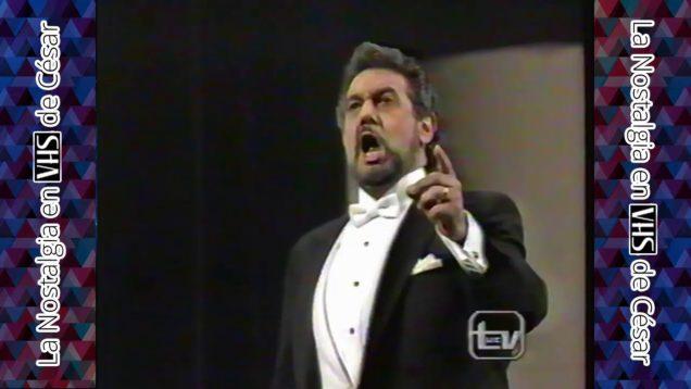 Placido Domingo Recital Santiago de Chile 1990