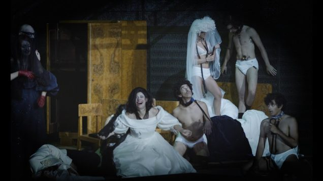 The Bassarids (Henze) Salzburg 2018 White Brown Panikkar