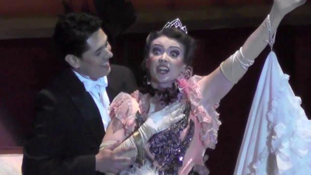 Die lustige Witwe – La Viuda Alegre Medellin 2015