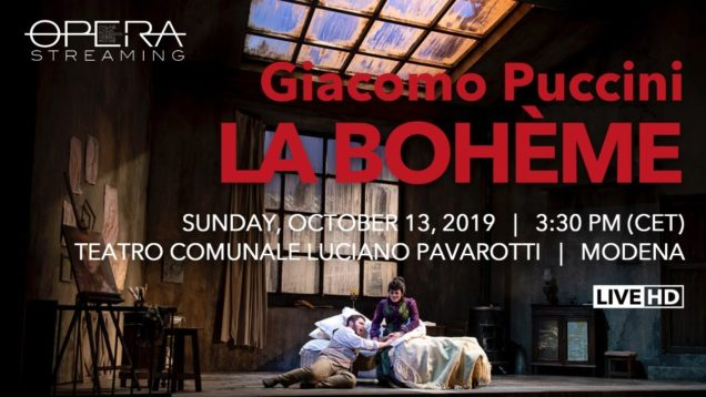 <span>FULL </span>La Boheme Modena 2019 Leva Desole Drei Seo