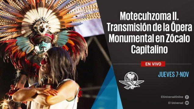 <span>FULL </span>Motecuhzoma II (Champion & Vivaldi) Mexico City 2019