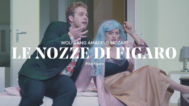 Le nozze di Figaro Stuttgart 2019 Kammler Brandon Bendziunaite Nagl Haller