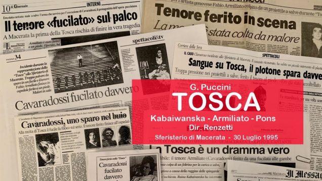 <span>FULL </span>Tosca Macerata 1995 Armiliato Kabaivanska Pons