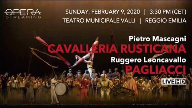 <span>FULL </span>Cavalleria Rusticana & Pagliacci Piacenza 2020 Ganassi La Colla Remigio