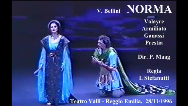 <span>FULL </span>Norma Reggio Emilia 1996 Delayre Armiliato Ganassi Prestia