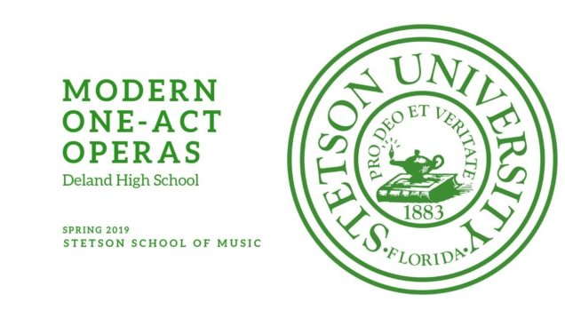 <span>FULL </span>L'Enfant et les sortileges DeLand FL 2019 Stetson University