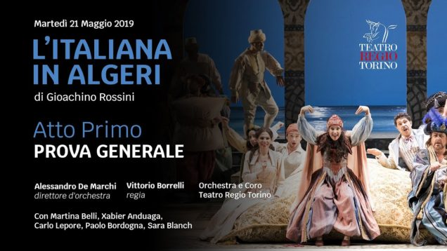 <span>FULL </span>L'italiana in Algeri Turin 2019 Belli Anduaga Lepore Bordogna