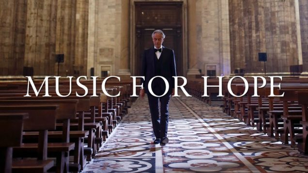 <span>FULL </span>Andrea Bocelli: Music For Hope – Live From Duomo di Milano 2020