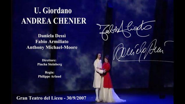 <span>FULL </span>Andrea Chenier Barcelona 2007 Dessi Armiliato Michaels-Moore