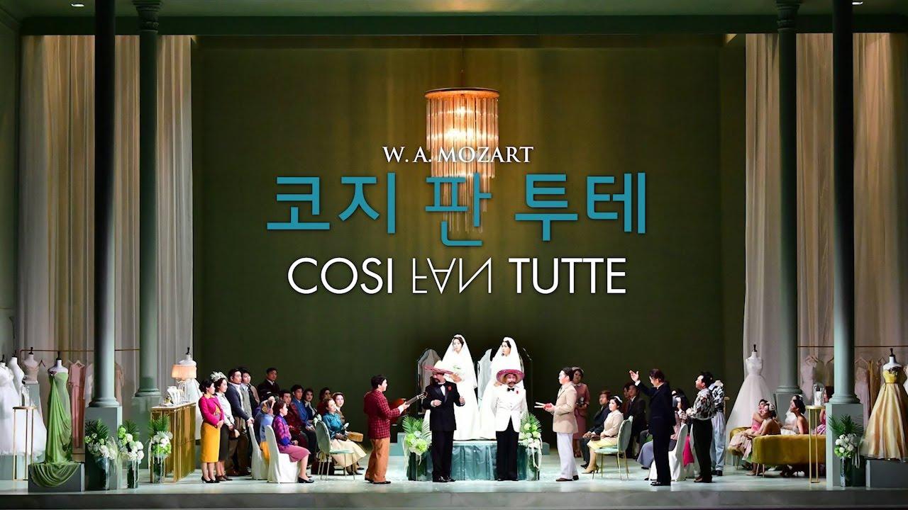 Così fan tutte Seoul 2017 Jung Choi Kim Oh Kim Woo – Opera on Video