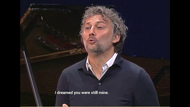 Jonas Kaufmann Recital Munich 2020