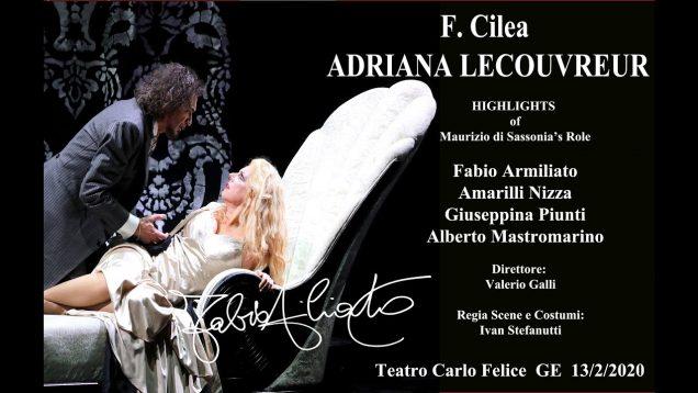 Adriana Lecouvreur Genoa 2020 Nizza Armiliato Piunti