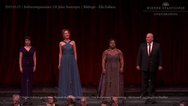 <span>FULL </span>Geburtstagsmatinee 150 Jahre Opernhaus am Ring Vienna 2019