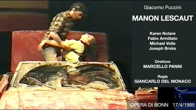 <span>FULL </span>Manon Lescaut Bonn 1995 Armiliato Notare Volle