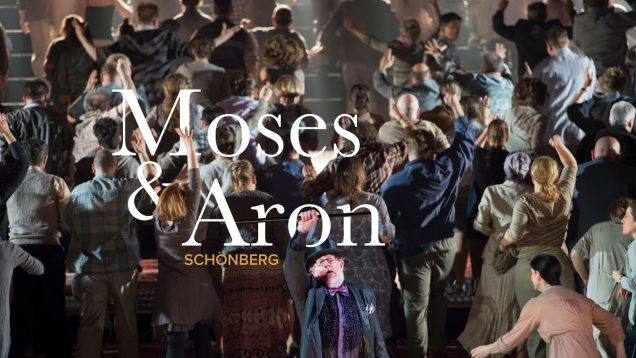 Moses und Aron (Schoenberg) Berlin 2015