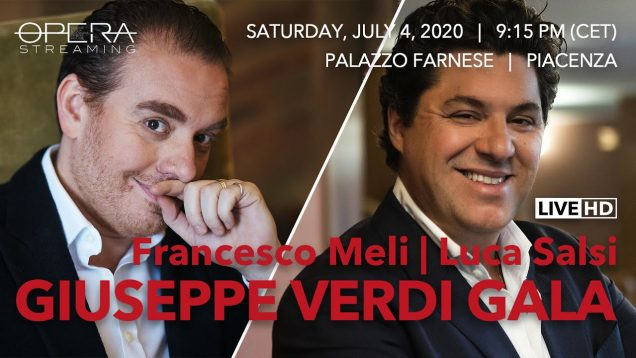 Giuseppe Verdi Gala Piacenza 2020 Meli Salsi