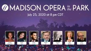 <span>FULL </span>Madison Opera's Digital Opera in the Park Madison WI