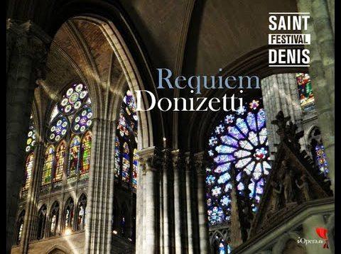 Requiem (Donizetti) St.Denis 2016 Leonardo García Alarcón