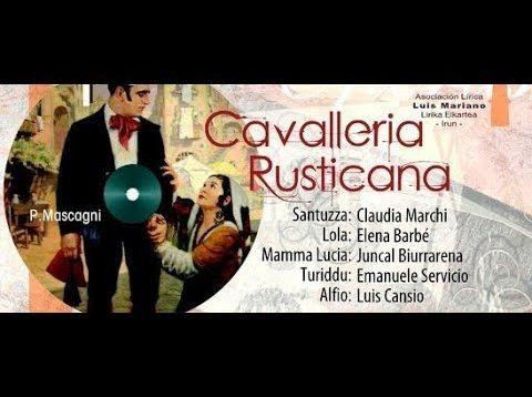 <span>FULL </span>Cavalleria rusticana Irún 2012 Marchi Servidio Cansino