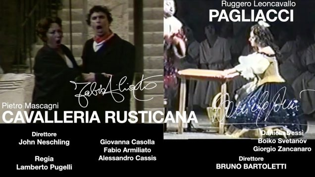 <span>FULL </span>Cavalleria rusticana Palermo 1995 Casolla Armiliato Cassis
