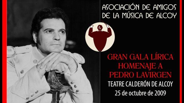 <span>FULL </span>Gran Gala de Opera Homenaje a Pedro Lavirgen Alcoy 2009