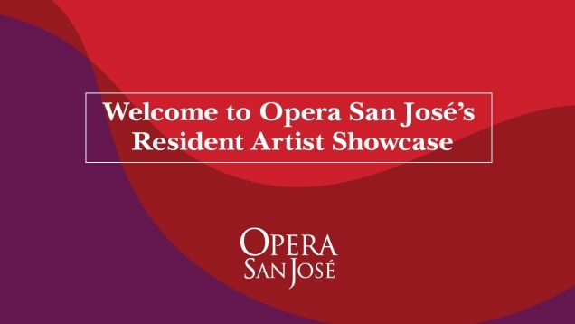 Resident Artist Showcase Opera San José CA 2020