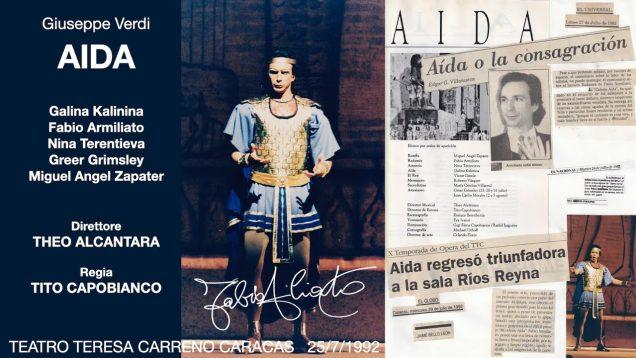 Aida Caracas 1992 Kalinina Armiliato Grimsley Terentieva