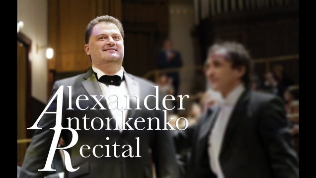 Aleksandrs Antonenko Recital Riga 2020