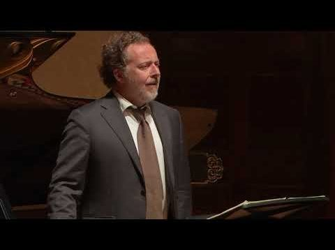 Christian Gerhaher Lieder Recital London 2020