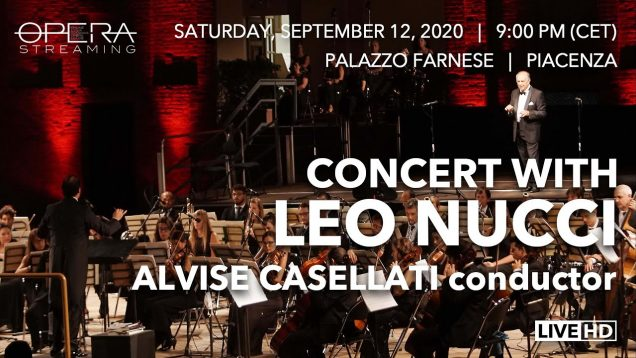 Concert Leo Nucci Piacenza 2020