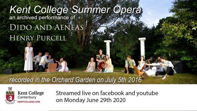 <span>FULL </span>Dido and Aeneas Canterbury 2016 Kent College