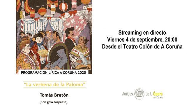 <span>FULL </span>La verbena de la Paloma (Breton) A Coruna 2020