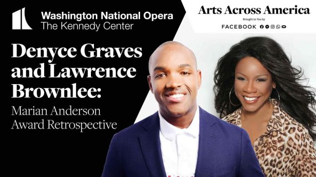 <span>FULL </span>Marian Anderson Award Retrospective Washington DC 2020 Brownlee Graves
