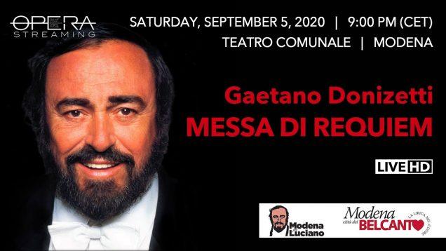 <span>FULL </span>Requiem (Donizetti) Modena 2020