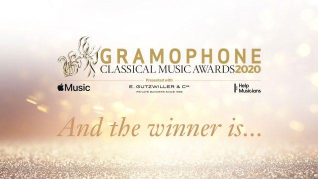<span>FULL </span>Gramophone Classical Awards Glyndebourne 2020