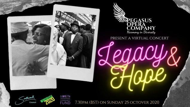 <span>FULL </span>Legacy and Hope Concert London 2020 Pegasus Opera