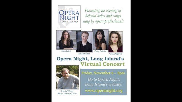 <span>FULL </span>Opera Night Live: 6 Virtual Concerts Long Island NY 2020