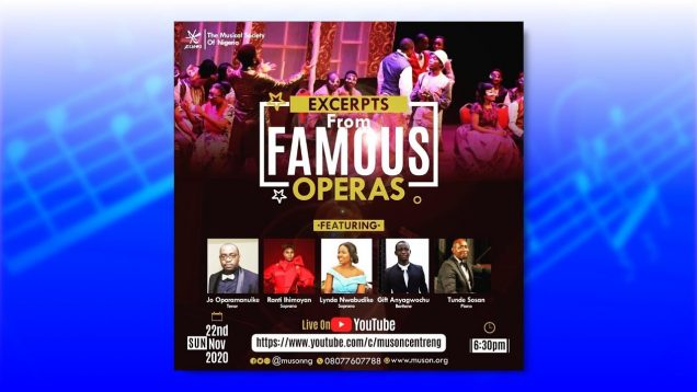 <span>FULL </span>Excerpts from Famous Operas Lagos 2020 Musical Society of Nigeria